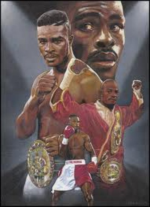 Terry Norris is a former junior middleweight champion. He had a shaky chin but his speed, power and talent were out of this world.