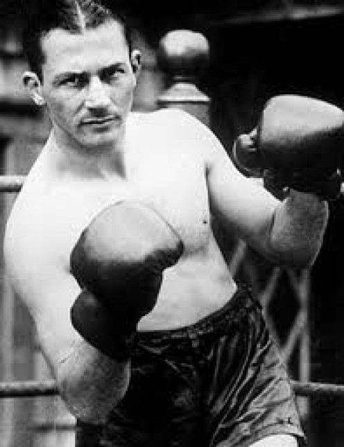 Lightweight Boxing Great, Benny Leonard had power and sublime boxing ability. He could stay on the outside or bang away up close.