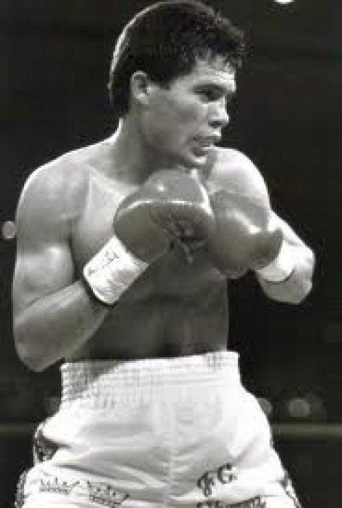 Julio Cesar Chavez went 89-0-1 before suffering his first official defeat. He could bang the body with accuracy and he had an iron chin.
