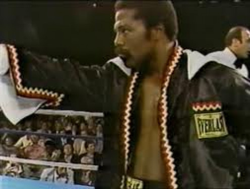 "Former Jr. welterweight Champion Aaron""The Hawk"" Pryor. He was a non stop forward motion punching machine."