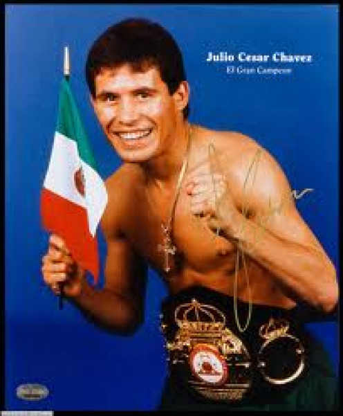 Julio Cesar Chavez was Mexico's best fighter in history. He was undefeated in his first 89 professional bouts.