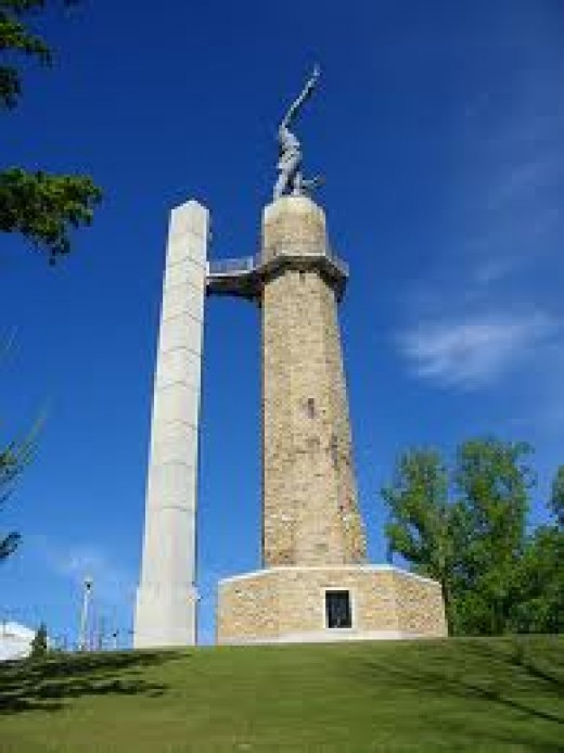 The Vulcan in Birmingham, Alabama has been restored and it really is a sight to see. Millions visit Vulcan park each year from cities throughout the entire country.