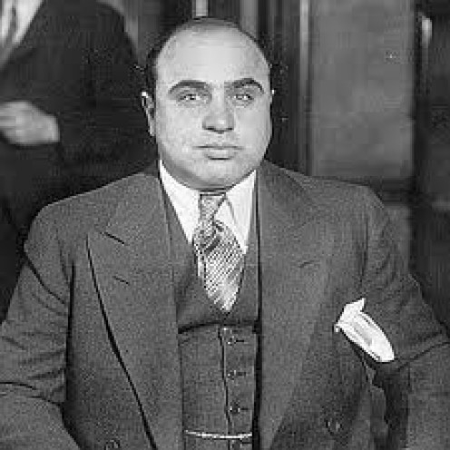 Al Capone is famous for illegally dealing, making and transporting bootleg alcohol during the prohibition era.