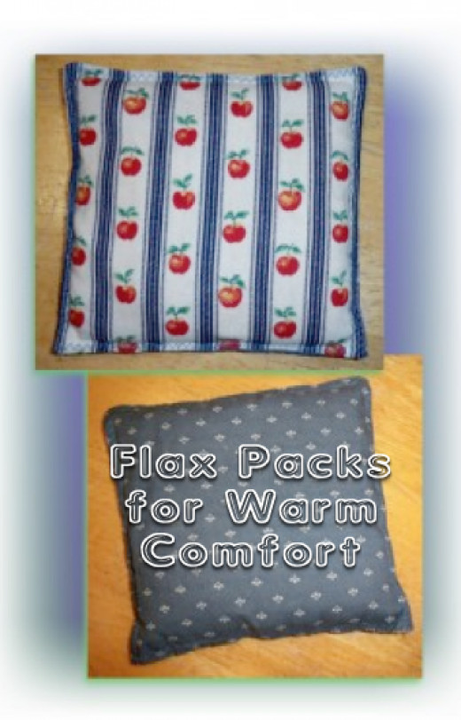 Flax Packs are Easy to Create and Besides their Benefits, they make Amazing Little Gifts