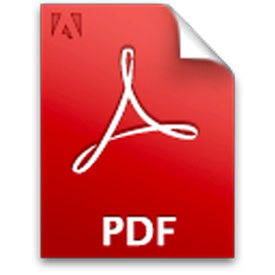 What does PDF stand for?