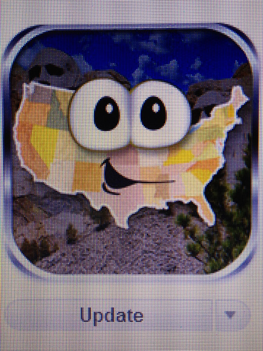A great app for the little traveler that she is... one of my daughters favorites.