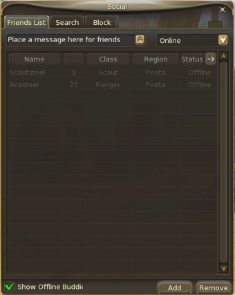 """With """"mules"""" you can buy materials for low price and sell for higher in broker; keep them in friends list for easy contact."""