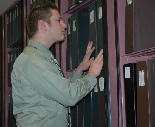 Following standard office procedures eliminates guesswork.