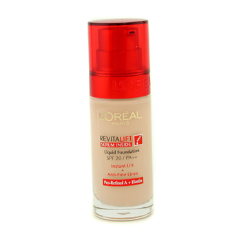 A liquid foundation that is serum-fortified, this instantly lifts and prevents fine lines.