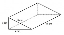 How to Find the Surface Area of a Triangular Prism (Right Angled and Isosceles)