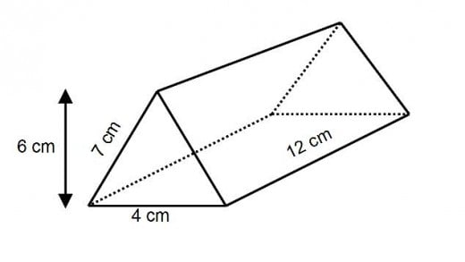 How To Work Out The Surface Area Of A Triangular Prism