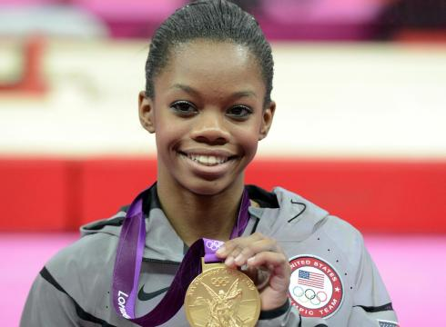 Gabby is a great American Athlete that is an inspiration to all Americans.  Even if Bob Costas tells you otherwise.
