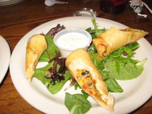 Sliders has great appetizers!