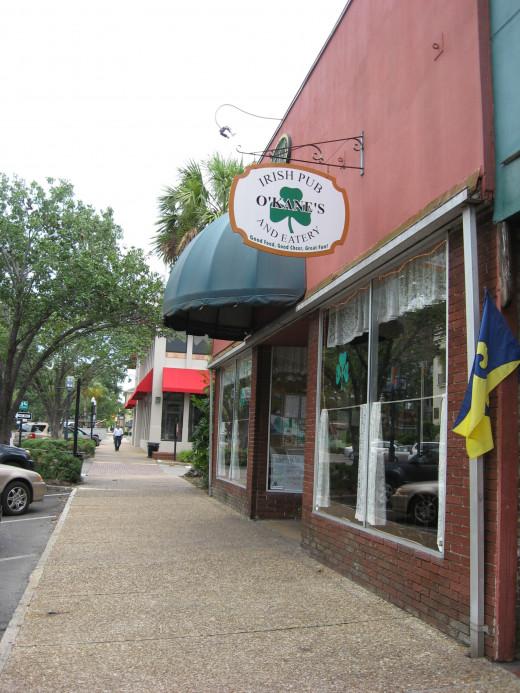 O'Kanes Irish Pub - downtown Fernandina Beach