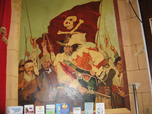 one of the Palace's murals