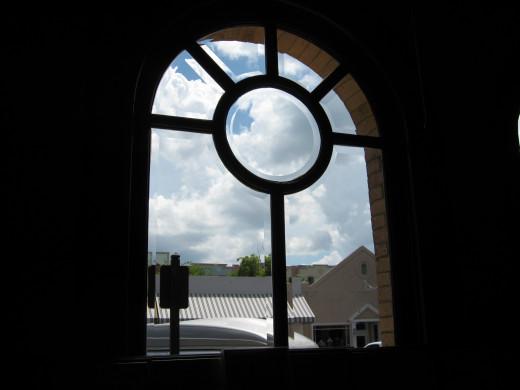 interesting old window