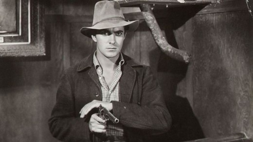 Tyrone Power as Jesse James (1939)