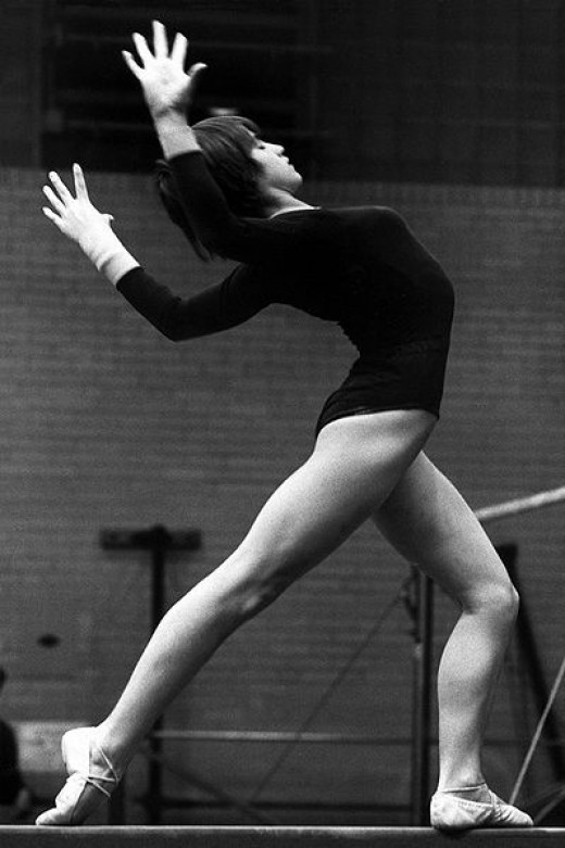 Nadia Comanecia was the first gymnast in the history of gymnastics to receive 7 perfect 10.0s in the 1976 Olympics in Montreal.