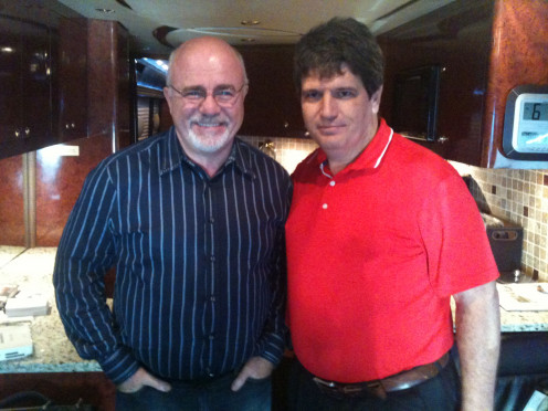 Dave Ramsey with Joe Southern.