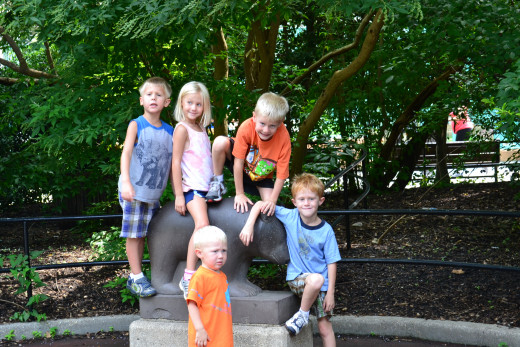 Nothing compares to quality time with your kids (At National Zoo)