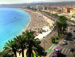The beautiful Côte d'Azur– with its brilliantly blue waters and its exquisite surroundings