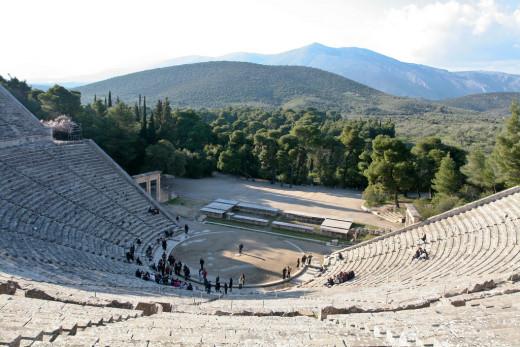 Epidaurus Theatre, near Athens
