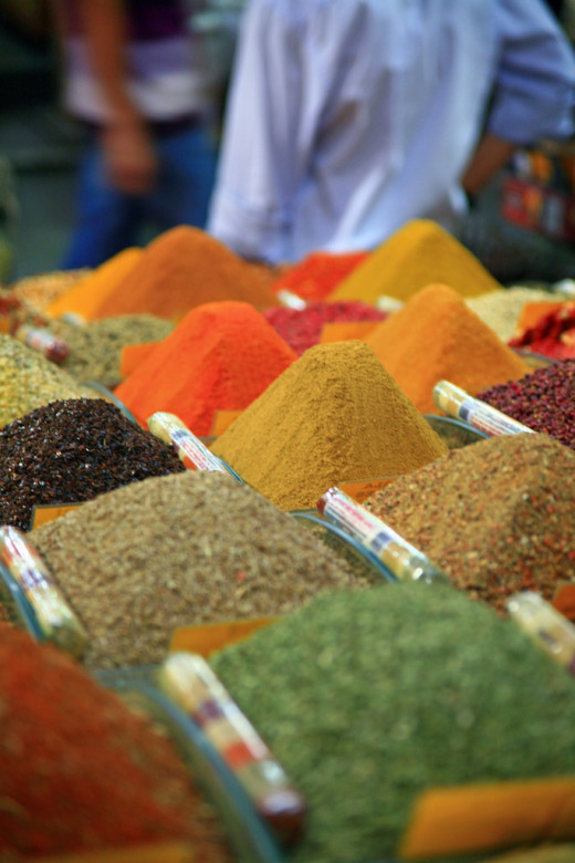 On the Egyptian Spice Market
