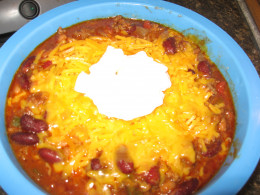 One of my quick and easy recipes - for chili.