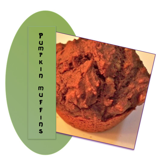 Pumpkin makes a Fabulously Healthy and Delicious Muffin for On-The-Go Eating!