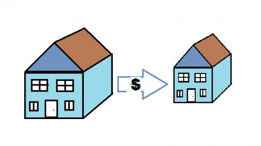 Save money by downsizing to a smaller house