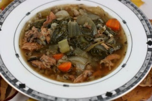 Crock Pot Turkey and Wild Rice Stew