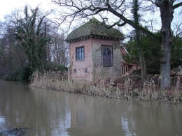 Part of the original house where John Donne lived in Pyford, England.