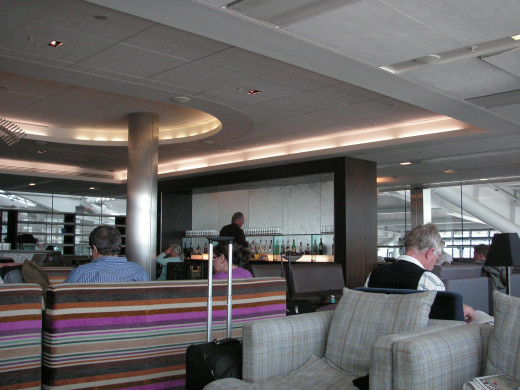 BA Gallery lounge at LHR Terminal 5