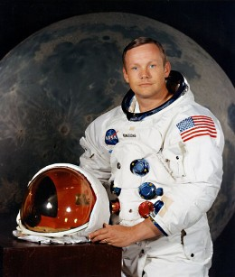 Neil Armstrong - a man whose name will live on for as long as human beings exist