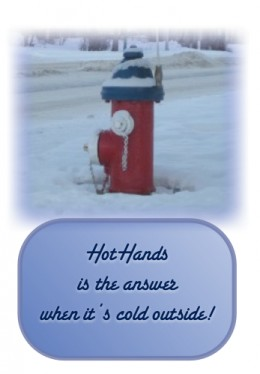 Baby, It's Cold Outside, But HOTHANDS Keeps Me Comfortable!