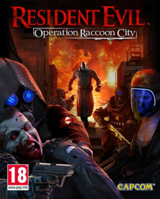 Game cover for Resident Evil: Operation Raccoon City