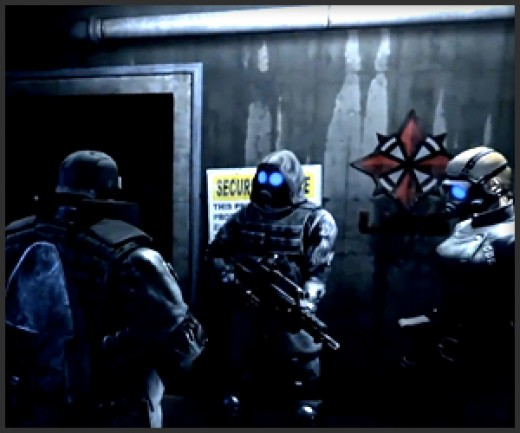 Shot of the U.S.S. from Resident Evil: Operation Raccoon City