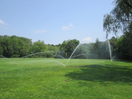 More Irrigation keeps the Golf Course looking Green and Healthy at Middlebrook Country Club!