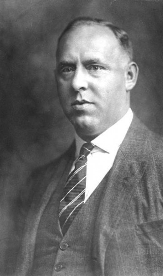 Gregor Strasser, leader of the left-wing 'strasserist' group of the Nazis. Was killed in the Night of the Long Knives in 1934.
