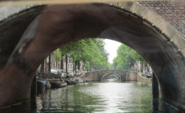 The canals of Amsterdam.