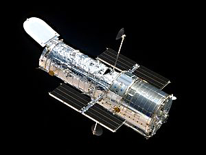 The Hubble Telescope has enabled us to see far into the distant universe