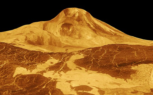 Maat Mons, the highest volcano on Venus