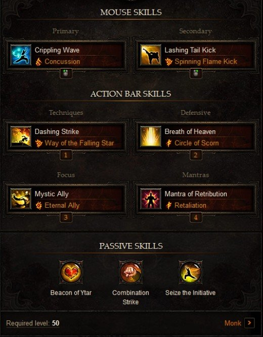 Offensive PVP Monk Build