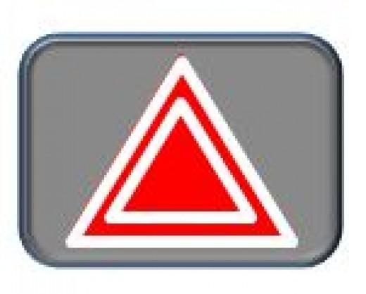 Figure 2.  Hazard Button