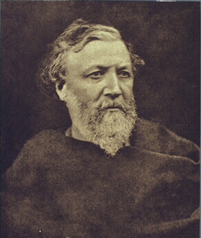 Robert Browning, (1865) / print ca. 1893 By Julia Margaret Cameron [Public domain], via Wikimedia Commons