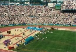 Atlanta Olympic  1996 crowd at Track and Field.