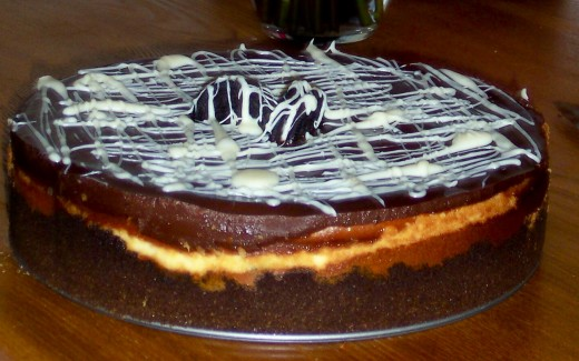 Oreo Cheesecake...Will You Marry Me?