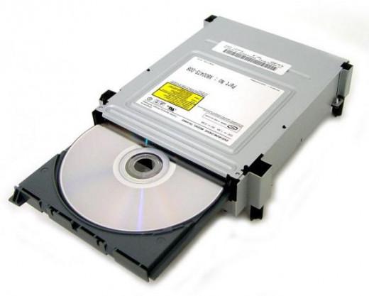 CD / DVD drive