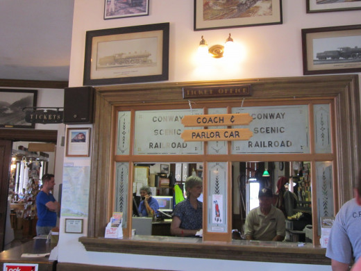 Visit the Train Museum at the North Conway Scenic Railroad Station.
