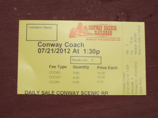 Buy Your Ticket Today! Ride the North Conway Scenic Railroad.